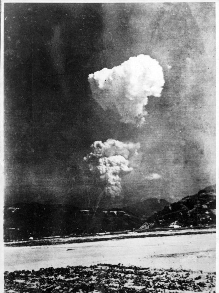 The bombing of Hiroshima, from 10 km away