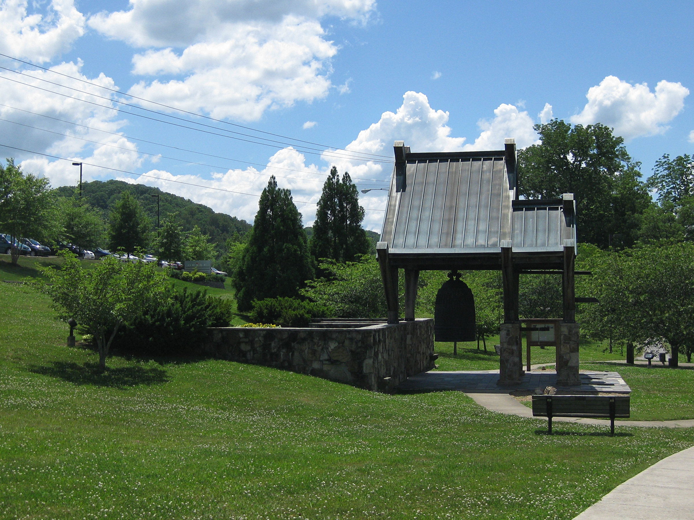 International Friendship Bell. Photo Courtesy of Wikimedia Commons, Douglas Perkins