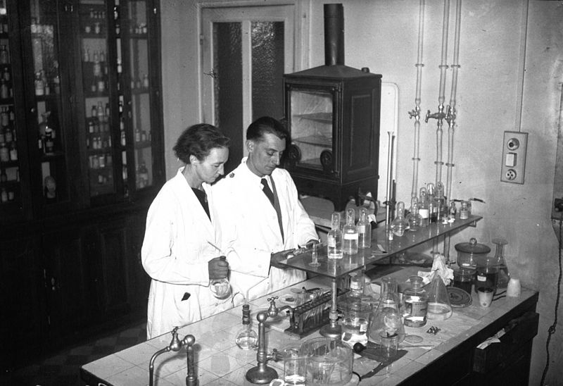 Irène and Frédéric Joliot-Curie