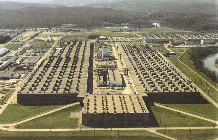 The K-25 Plant at Oak Ridge