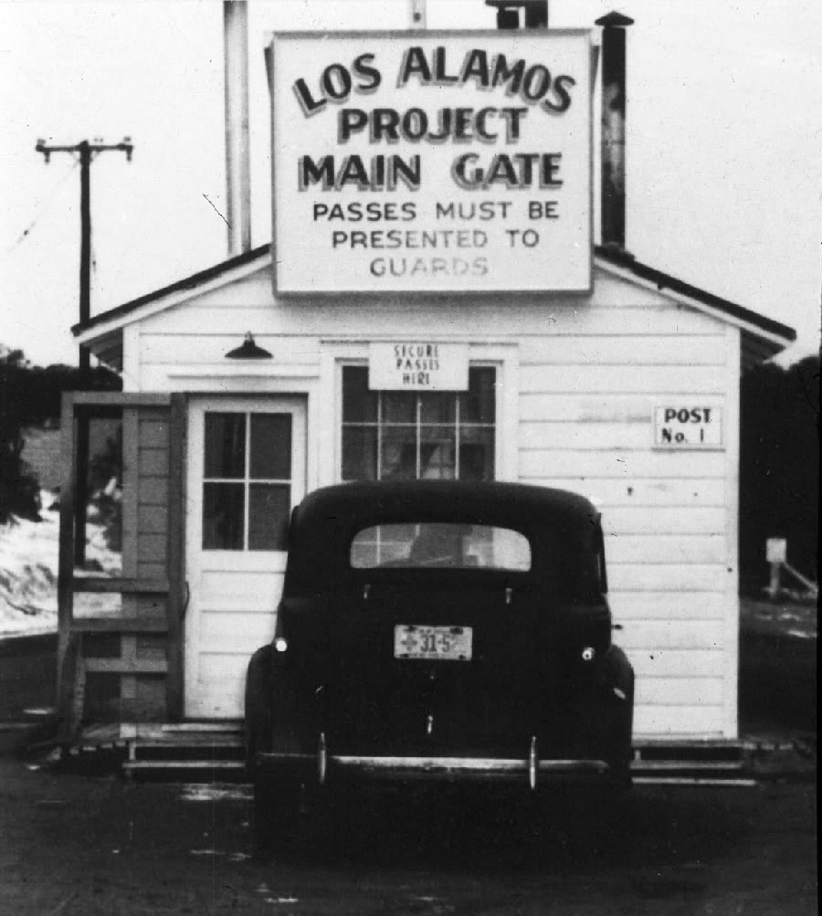 Los Alamos Main Gate