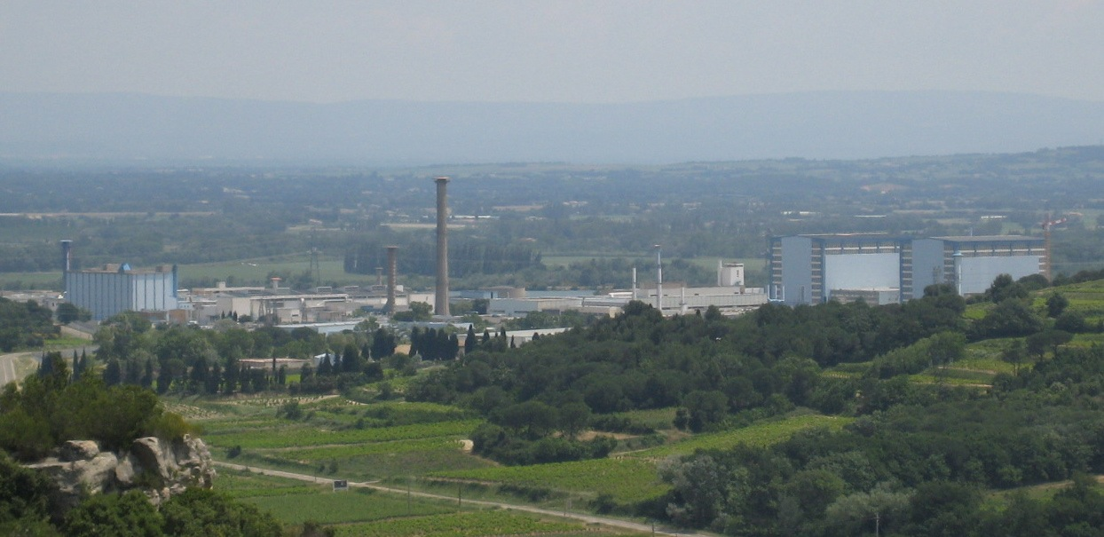 The Marcoule Nuclear Center today