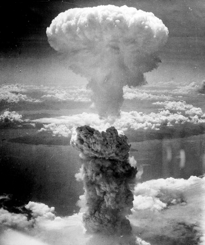 debate over the bomb an annotated bibliography atomic heritage  the mushroom cloud over nagasaki