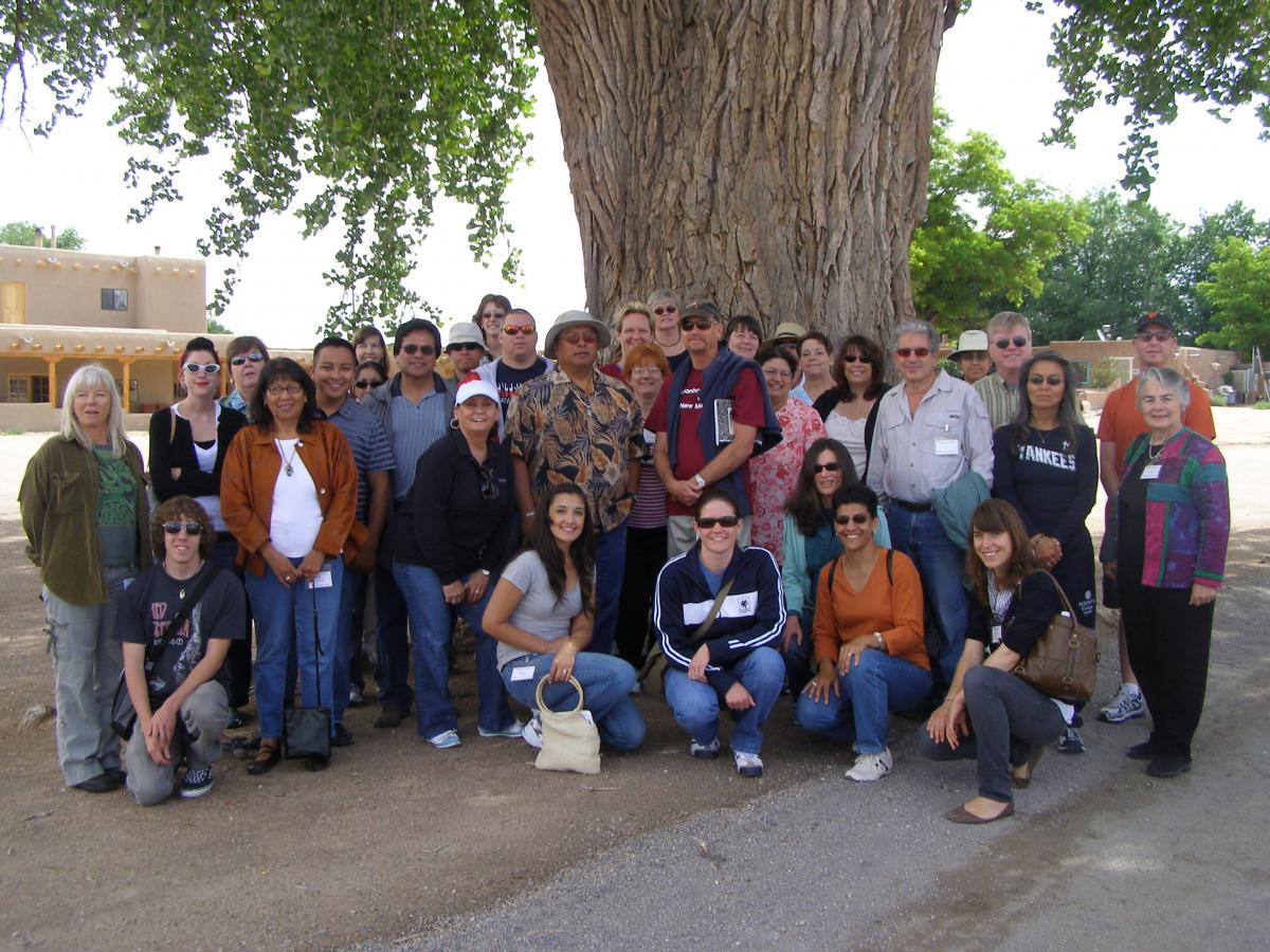 Participants of the 2009 New Mexico Teachers' Workshpo