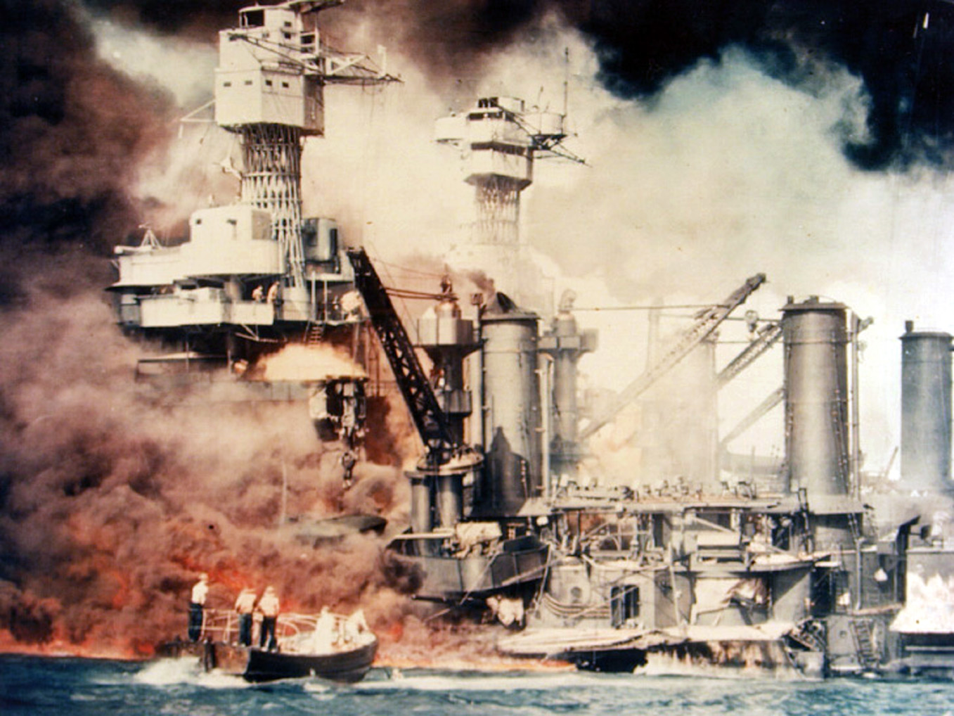 Did You Know Pearl Harbor Happened >> Attack On Pearl Harbor 1941 Atomic Heritage Foundation