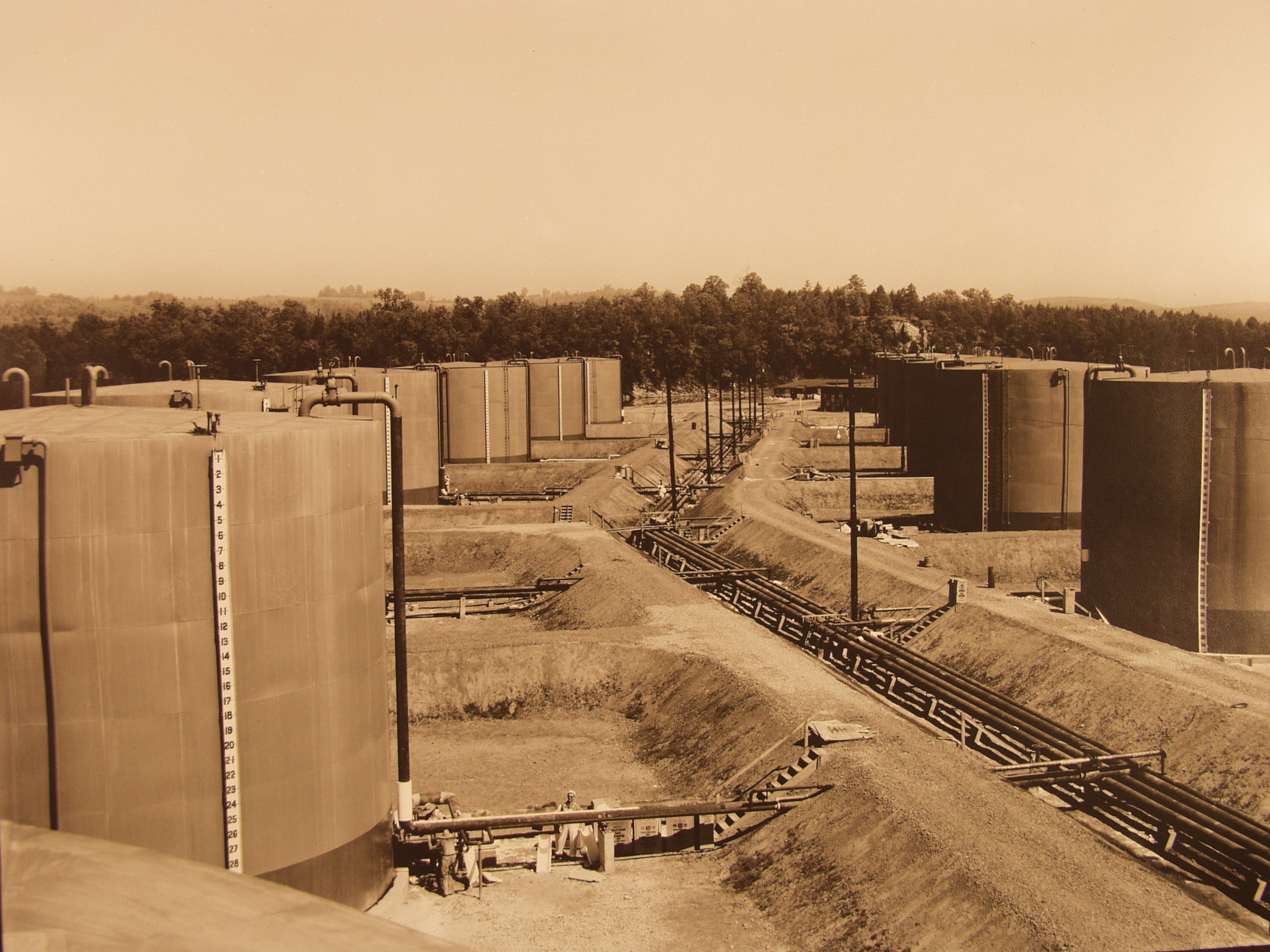 S-50 oil tanks.