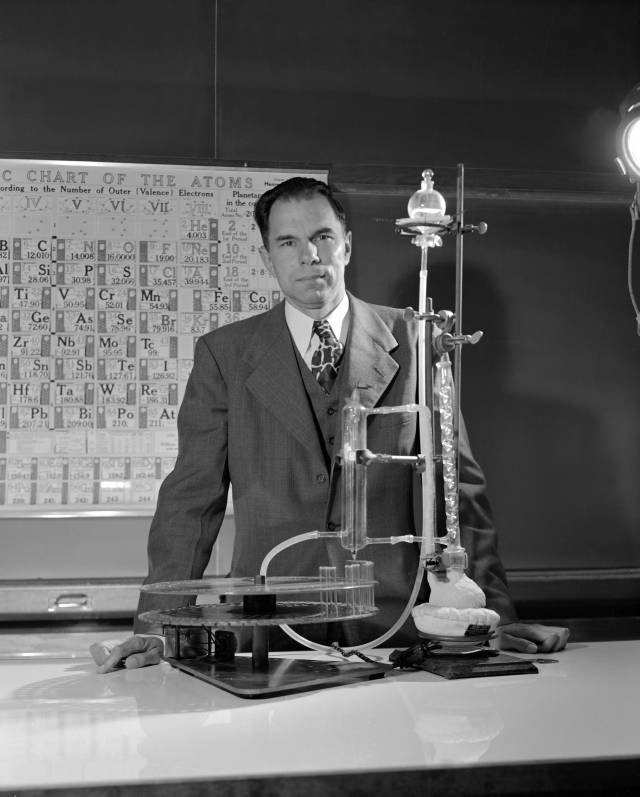 Periodic Table glenn seaborg contributions to the modern periodic table : Glenn Seaborg | Atomic Heritage Foundation