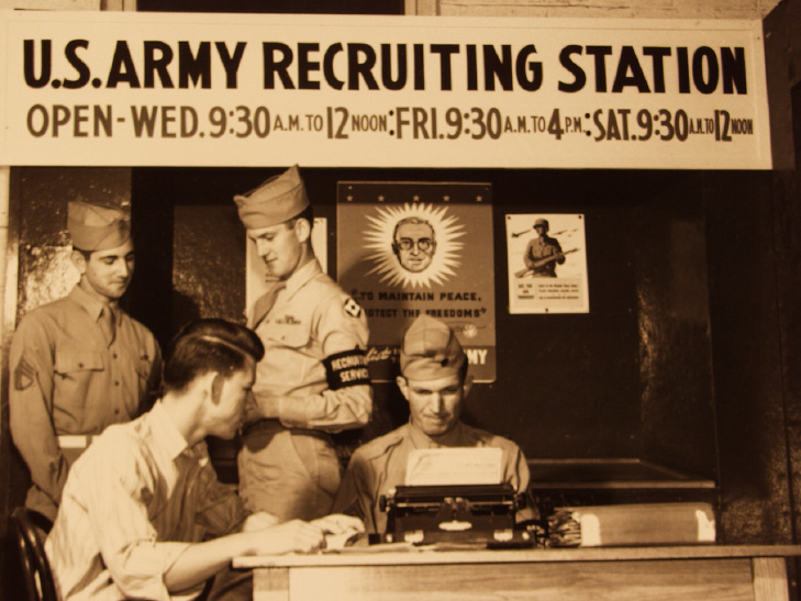 Army recruiting station