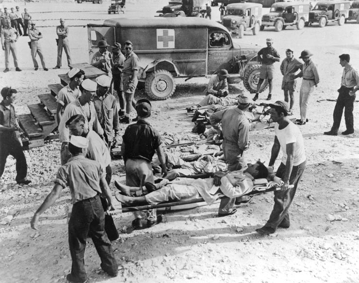 USS Indianapolis survivors on Guam