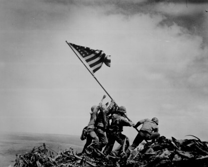 Capturing Iwo Jima.