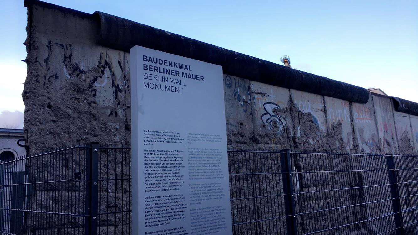 The Berlin Wall Atomic Heritage Foundation