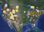 Alsos Digital Library for Nuclear Issues' Google map of US nuclear weapons complex sites