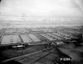 Hanford townsite, 1944.