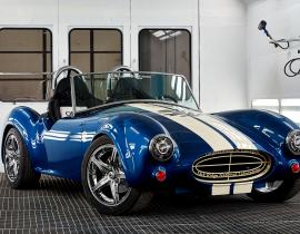 A 3-D printed Shelby Cobra by ORNL. Photo courtesy of DOE.