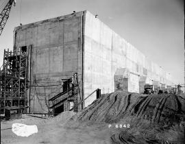 The T Plant under construction
