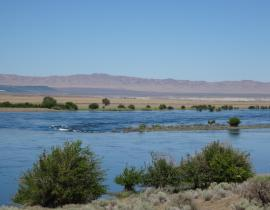 The Columbia River today
