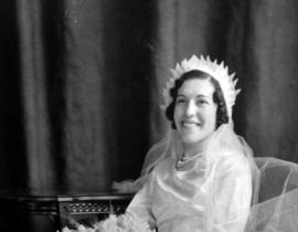 Juanita Chavez on her wedding day in 1936. Photo courtesy of Dimas Chavez.