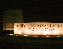 Oak Ridge National Laboratory. Photo courtesy of ORNL.