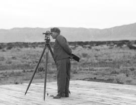 Juilian Mack at Trinity Site
