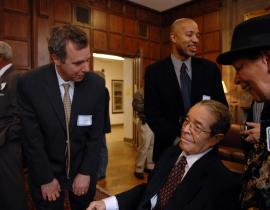 J. Ernest Wilkins at a special event in his honor at the University of Chicago in March 2007
