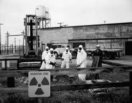 Workers at Hanford