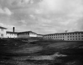 The Oak Ridge hospital in 1944. Photo courtesy of DOE.