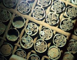 Spent nuclear fuel from Hanford. Photo courtesy of DOE.