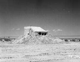 A bunker at Trinity Site
