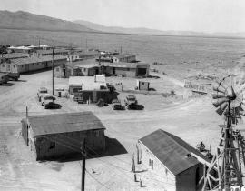 The Manhattan Project's base camp at Trinity Site