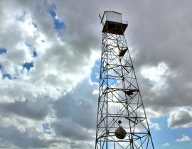 The Trinity Test Tower Replica