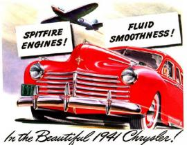 Chrysler advertisement, 1941