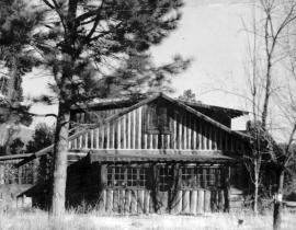 The Parsons House at Los Alamos. Photo courtesy of the Los Alamos History Museum Archives.
