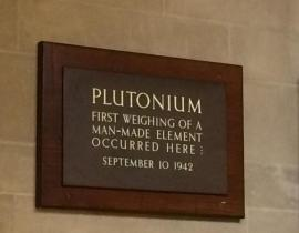 Sign by Room 405 in Jones Laboratory