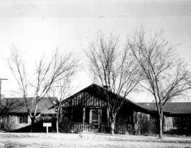 Spruce Cottage at Los Alamos. Photo courtesy of Los Alamos History Museum Archives.