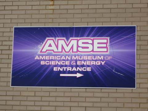 AMSE sign