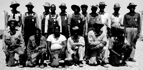 African-American construction workers at Hanford