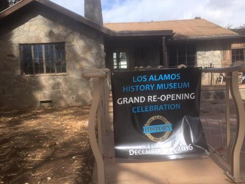 Los Alamos History Museum re-opening. Image courtesy of the Los Alamos History Museum.