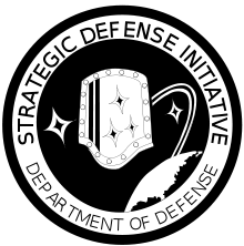 The official logo of the Strategic Defense Initiative