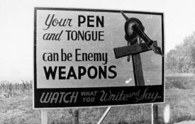Your pen and tongue can be enemy weapons