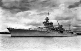 The USS Indianapolis before the war