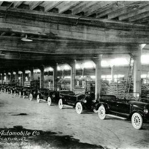 Comet Automobile Plant prior to WWII. Photo courtesy of the Decatur Public Library.