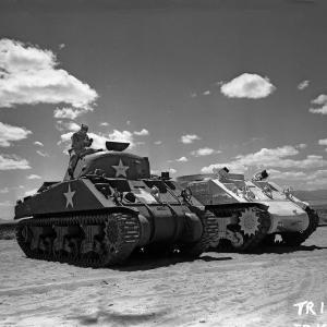 Lead lined tanks at Pope, NM