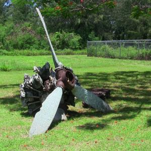 WWII Propeller (Photo Courtesy of Alex Boxer)