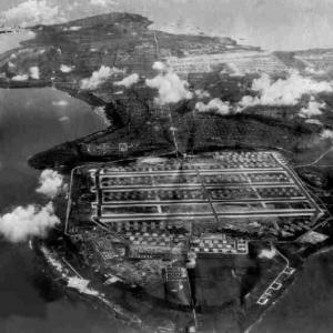 Tinian Airfield 1945 (North to South)