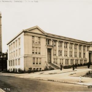 LeConte Hall at Berkeley, where Oppenheimer had his office