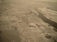 Aerial view of Hanford.