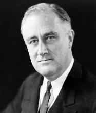 FDR. Courtesy of Wikimedia Commons.