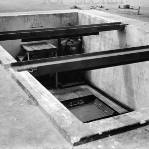 Bomb pit on Tinian