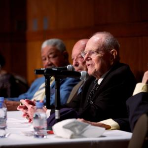 New York and Oak Ridge panel: James Forde, Dieter Gruen, Lawrence S. O'Rourke, and William E. Tewes