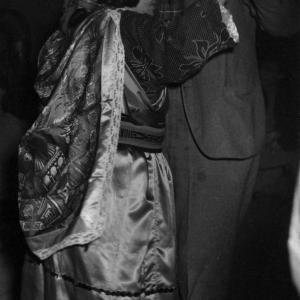 Maria Montoya Martinez dancing with Manhattan Project scientist Robert Brode. Photo courtesy of the Robert JS Brown Collection.
